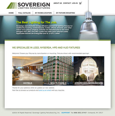 Sovereign Lighting Manufacturing