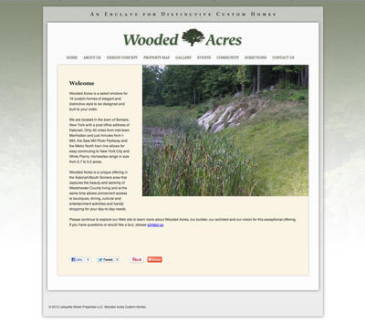 Wooded Acres Custom Homes