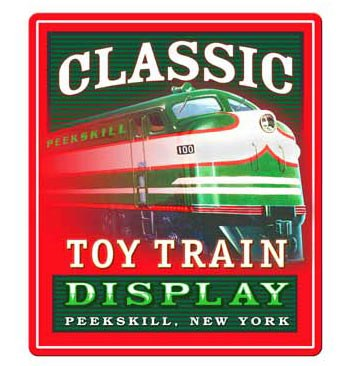 Classic Toy Train Display