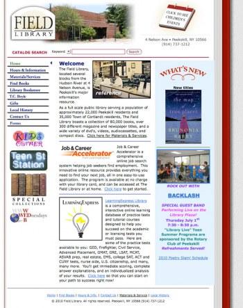 Field Library Website