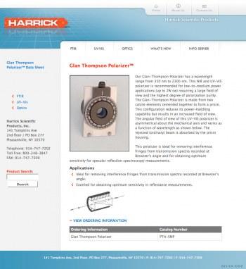 Harrick Scientific Products