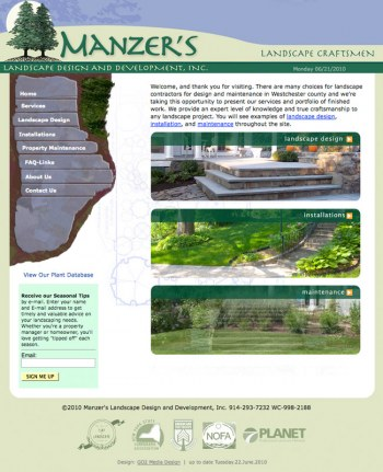 Manzer Landscape Design