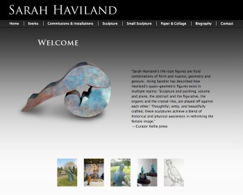 Sarah Haviland Website