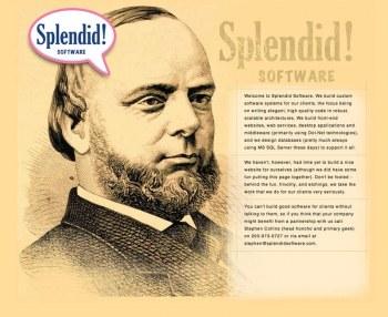 Splendid! Software Website Design