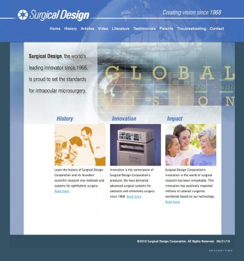 Surgical Design - The worlds leading innovators in Intraocular Microsurgery